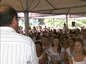 Depois de dois meses, servidores da saúde em Santa Catarina terminam greve - Depois de dois meses, servidores da saúde em Santa Catarina terminam greve