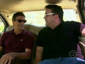 Evandro Mesquita pega carona de limusine com André Marques - Confira o que rolou no quadro Rolé com o André