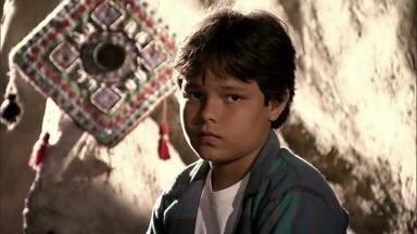 Ekran fica decepcionado com Bianca - Ele diz ao pai que ela não quer ser sua mãe