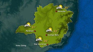 Avanço de frente fria pode causar chuva em algumas regiões de Minas - Possibilidade ocorre no Triângulo, na Zona da Mata e nas regiões Central, Sul e Oeste.