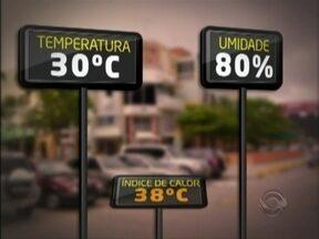 'Curiosidades do Verão': Leandro Puchalski fala sobre a diferença de temperatura - Leandro Puchalski é meteorologista do Grupo RBS.