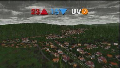 Previsão é de chuva para esta quinta-feira (10) - O sol mal aparece e o dia deve ter pancadas de chuva com trovoadas em São José e Jacareí.