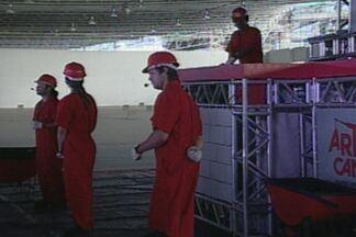 Projeto do Senai orienta trabalhadores da construção civil sobre prevenção de acidentes - Brasil é o 4º colocado no mundo em quantidade de acidentes de trabalho.