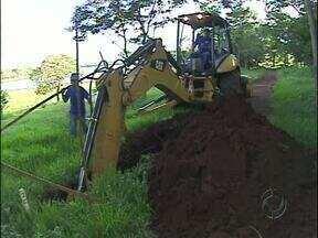 Prainha de Três Lagoas vai ficar fechada para obra de saneamento - Obras da Sanepar devem durar dois meses. Prefeitura também vai fazer obras de infraestrutura no local.