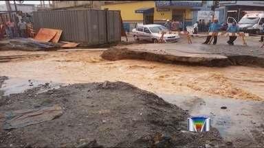 Chuva causa transtornos em várias cidades da região - Problemas ocorreram em Jacareí, Atibaia, São José dos Campos, Cunha e Jambeiro.