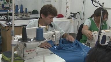 Venda de fardamento escolar bate recorde em Manaus. - Empresas que trabalham na fabricação das peças tiveram que contratar mais profissionais e aumentar a fabricação