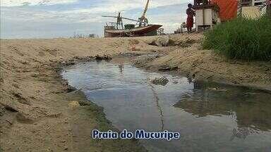 Principais praias da Grande Fortaleza estão abarrotadas de lixo e esgotos abertos - Cearenses e turistas se dizem tristes com a situação das praias.