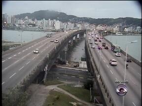 Confira imagens do trânsito nos principais pontos de Florianópolis - Confira imagens do trânsito nos principais pontos de Florianópolis.