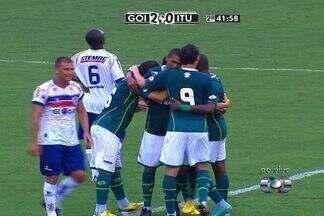 Os gols de Goiás 2 x 0 Itumbiara, pela 1ª rodada do Goianão 2013 - Júnior Viçosa e Ramon marcaram os gols esmeraldinos.
