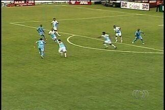 Com gol de Rômulo, Crac vence o Grêmio Anápolis por 1 a 0 em Catalão - Leão do Sul joga o suficiente para garantir os primeiros três pontos.