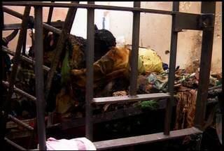 159 presos foram transferidos da Cadeia de Juazeiro do Norte para Prisão Industrial - Presos reclamam da super lotação no presídio.