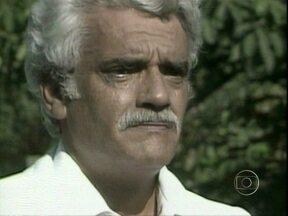 Relembre momentos marcantes da carreira de Walmor Chagas - Ator morreu em sua chácara na sexta, dia 18/1