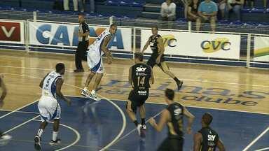 Minas vence o Basquete Cearense no NBB - Nesse fim de semana, Minas venceu o Basquete Cearense por 76 a 74.