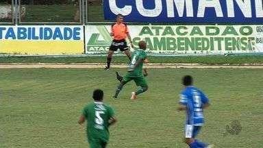 São Benedito joga a primeira partida em casa, mas perde para o Verdão - Em casa, São Benedito jogou a primeira. O time perdeu para o Icasa por 3 a 2 e teve até galinha no gramado