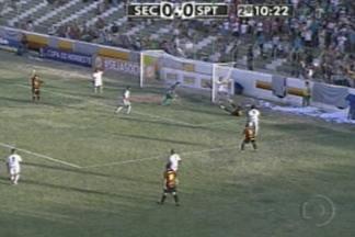 Sousa empata com o Sport na estreia da Copa do Nordeste - Jogando em casa, no Marizão, o Dinossauro até saiu na frente, mas tomou um gol no finalzinho do jogo e amargou apenas um empate na estreia.