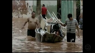 Chuva provoca transtornos em cidades do interior de MG - Montes Claros foi um dos municípios mais afetados