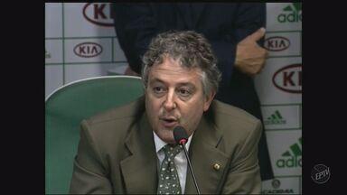 Paulo Nobre é eleito novo presidente do Palmeiras - Empresário foi escolhido na noite de segunda-feira (21).