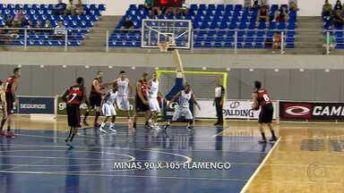 Minas perde para Flamengo por 90 a 105 - Time carioca é considerado o melhor no NBB.