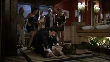 Salve Jorge - Capítulo de terça-feira, dia 22/01/2013, na íntegra - Mustafa constata que Jéssica está morta