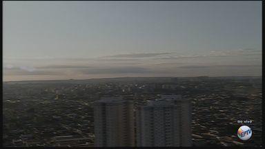 Confira como fica o tempo nesta quarta-feira (23) em Ribeirão Preto - Temperatura máxima prevista é de 30ºC.