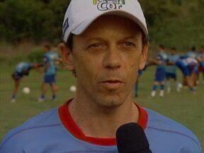 Piauí Esporte Clube treina pesado para temporada 2013 e escalação é surpresa - Técnico tem nomes dos titulares guardados a sete chaves