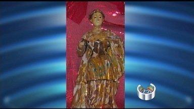 Roubo de imagem de santa muda rotina de comunidade em Nazaré Paulista (SP) - A imagem foi furtada no começo do mês e até agora não há pistas de quem a tenha levado.