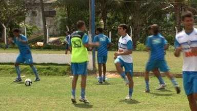 CSA está preocupado com a maratona de jogos no Campeonato Alagoano - Time azulino sofre com as contusões do início de temporada