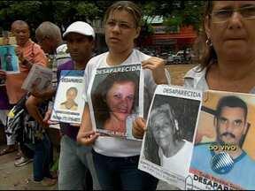 Confira o quadro 'Desaparecidos' desta quarta-feira - Parentes mantém a esperança à procura por entes queridos.