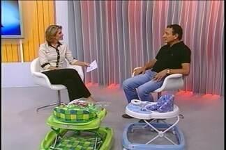 Polêmica sobre andador infantil foi discutida no JA - Pediatra esteve ao vivo no estúdio