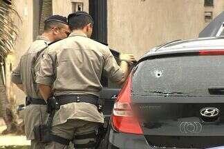 Um homem morre depois de troca de tiros com a polícia; outros dois são presos - Os três estavam em um carro roubado, em Goiânia. Segundo a PM, eles são acusados de cometer crimes na região noroeste da capital. Todos já tinham passagens por furto, homicídio e tráfico de drogas.