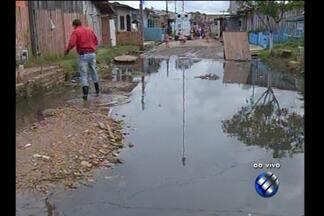 Alagamentos no Tapanã preocupam moradores - Repórter Guilherme Mendes traz as informações ao vivo.