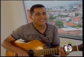 Cantor Luciano Pacco grava show ao vivo em Grão Mogol - Cantor Luciano Pacco grava show ao vivo em Grão Mogol