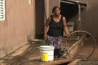 Motivo de água aquecida em cisterna de Aparecida de Goiânia seria bomba estragada - A Defesa Civil de Aparecida de Goiânia afirma que o problema estava na bomba que fazia a captação de água da cisterna para a casa.