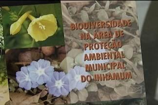 Alunos do curso de ciências biológicas da Uema lançam livro sobre biodiversidade - Professores e alunos do curso de ciências biológicas da Uema, em Caxias, lançaram ontem (25) um livro sobre a rica biodiversidade da reserva ambiental do Inhamum. A obra é resultado de anos de pesquisa.