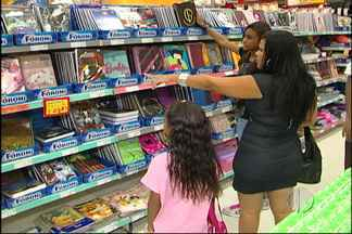 Consumidores devem pesquisar para compra de material escolar - Os consumidores devem pesquisar os preços antes de comprar o material escolar. O Procon alerta que preços abusivos dos produtos podem ser denunciados.