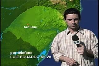 Decisão da Copa Santiago já começou. - A partida é entre Criciúma e Internacional.