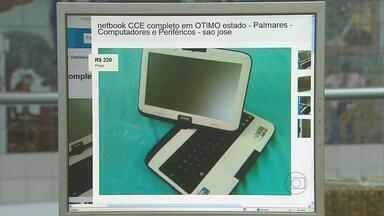 Denúncia: tablets distribuídos pelo governo do estado estão sendo comercializados - No ano passado, o governo distribuiu 156 mil computadores portáteis que deveriam ser usados pelos alunos.