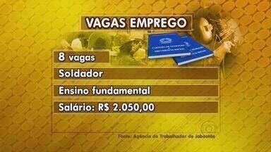 Soldador, analista contábil e de recursos humanos são opções de emprego em Jaboatão - Podem concorrer pessoas que estão em qualquer local da Região Metropolitana do Recife.