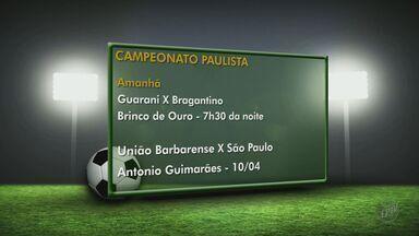 Times da região jogam nessa quarta (30) na rodada do Paulistão - A Ponte Preta joga contra o Oeste às 19h30 no Estádio Moisés Lucarelli. O XV de Piracicaba enfrenta o Penapolense no Estádio Tenente Carriço também às 19h30.