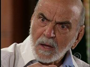 Paco revela a verdade para Afonso - Ele revela ao pai que não é Apolo, como todos pensavam
