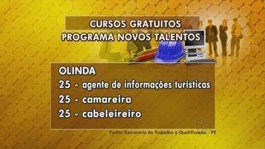 Programa Novos talentos oferece diversas oportunidades em Pernambuco - Há vagas no Agreste, Sertão e Região Metropolitana do Recife.