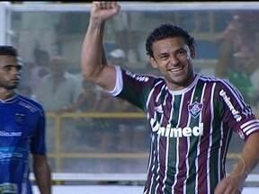 No primeiro jogo como titular, Fred marca gol na goleada contra o Quissamã - Artilheiro marcou gol de pênalti. Os outros dois da vitória por 3 a 0 foram marcados por Wagner e Jean.
