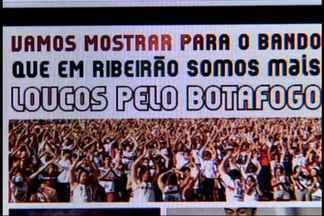 Botafogo faz campanha para lotar estádio contra o Corinthians - Campanha faz alusão ao grito 'bando de loucos', do Timão.