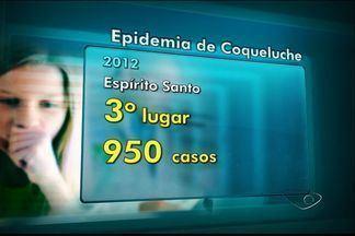 Espírito Santo registrada uma morte por coqueluche em 2013 - No ano passado, dez pessoas morreram. Já este ano, 32 pessoas pegaram a doença.