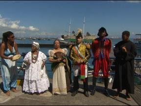 Protesto marca dois anos de fechamento do Forte São Marcelo, em Salvador - Os manifestantes querem que a fortaleza militar seja reaberta e volte a fazer parte do roteiro cultural da capital baiana.