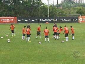 Internacional enfrenta Cruzeiro neste domingo (17) - O técnico Dunga poupará os titulares.