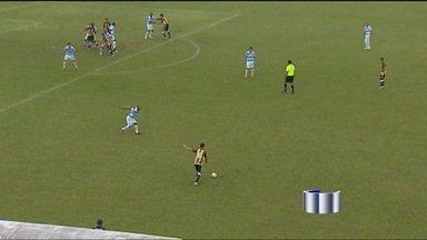 São José vence o Serra por cinco a zero - As meninas do São José se classificaram para a segunda fase da Copa do Brasil de Futebol Feminino. Elas venceram o Serra, do Mato Grosso, no Martins Pereira, por cinco a zero.