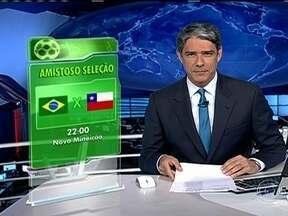 Amistoso contra Chile acontecerá no novo estádio do Mineirão - A Confederação Brasileira de Futebol confirmou que o amistoso contra o Chile, marcado para 24 de abril, será jogado no novo estádio do Mineirão.