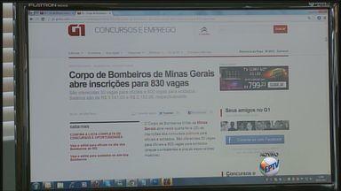 Corpo de Bombeiros lança concurso público para 830 vagas em Minas Gerais - Corpo de Bombeiros lança concurso público para 830 vagas em Minas Gerais