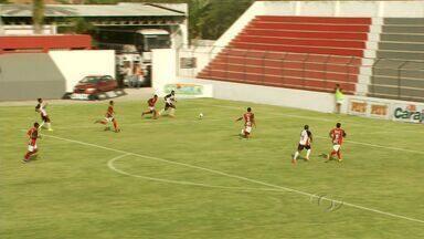 Corinthians-AL goleia o Sport Atalaia por 4 a 0 - Partida marcou a estreia do técnico Enio Oliveira no comando do Tricolor